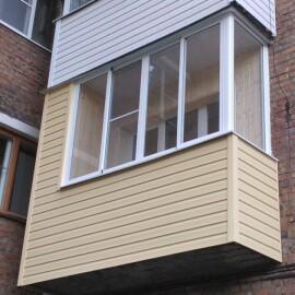 Сайдинг балкона