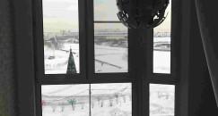 Нестандартное остекление балкона