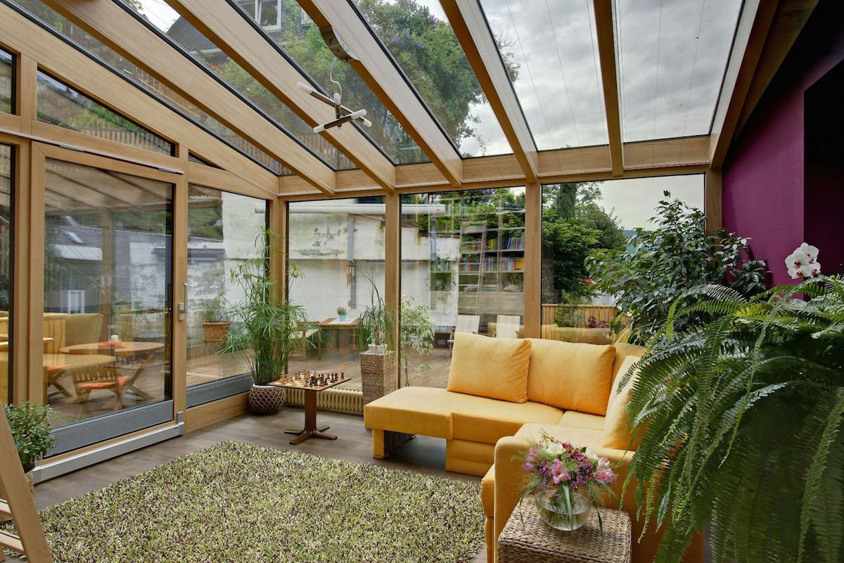 знает, стеклянная крыша для террасы фото зависит размера